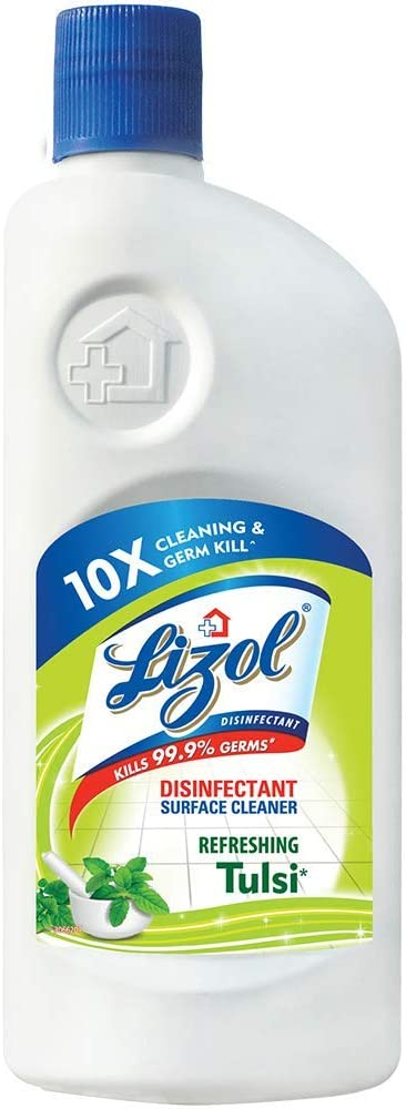 Lizol Disinfectant Surface And Floor Cleaner - 500ml (tulsi)