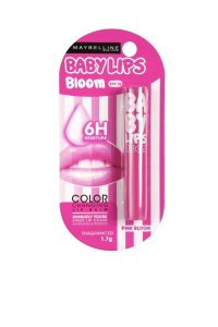 Maybelline Baby Lips Color Changing Lip Balm, Pink Bloom, 1.7g