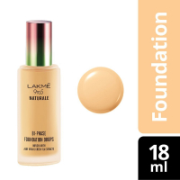 Lakme 9 To 5 Naturale Foundation Drops, Ivory Cream, 18 Ml