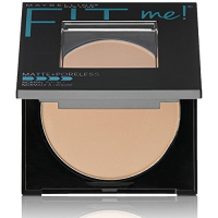 Maybelline New York Fit Me Matte Poreless Powder, 235 Pure Beige, 8.5g