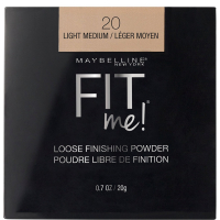 Maybelline New York Fit Me Loose Finishing Powder, 20 Light Medium, 20g