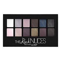 Maybelline New York The Rock Nudes Palette Eyeshadow, 9g