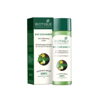 Biotique Bio Cucumber Pore Tightening Toner With Himalayan Waters For Normal To Oily Skin, 120ml