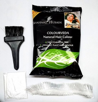 Shahnaz Husain Colourveda Natural Hair Colour, Blackish Brown, 100g