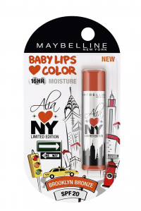 Maybelline Baby Lips Alia Loves New York, Brooklyn Bronze, 4g