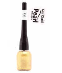 Miss Claire Women's Pearl Eyeliner (gold - 8, Mcpe8)