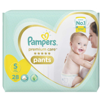 Pampers Premium Care Small Size Pants Diapers, 28 Pieces