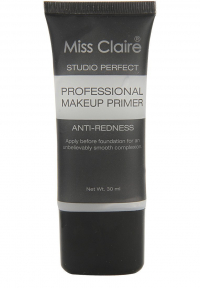 Miss Claire Studio Perfect Professional Make Up Primer Anti Redness Clear