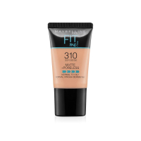 Maybelline New York Fit Me Matte+poreless Liquid Foundation Tube, 310 Sun Beige, 18ml