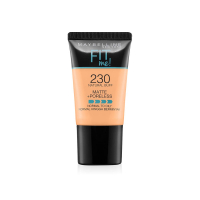 Maybelline New York Fit Me Matte+poreless Liquid Foundation Tube, 230 Natural Buff, 18 Ml