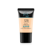 Maybelline New York Fit Me Matte+poreless Liquid Foundation Tube, 128 Warm Nude, 18 Ml
