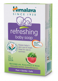 Himalaya Refreshing Baby Soap, 75g