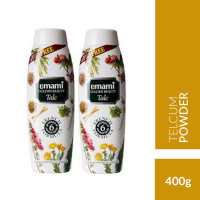 Golden Beauty Alpine Dew Talc, 400g (buy One Get One)