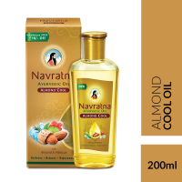 Navratna Almond Cool Oil, 200ml