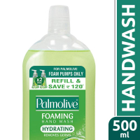 Palmolive Hydrating Foaming Hand Wash, Lime & Mint - 500 Ml (refill Pack)