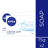 Nivea Soap, Creme Soft, 75g (pack Of 4)
