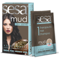 Sesa Mud Hair Spa Kit 3 Step Therapy (1 Kit)
