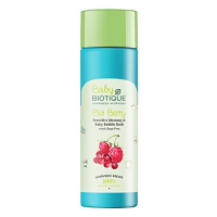 Biotique Berry Sensitive Mommy And Baby Bubble Bath, 190 Ml