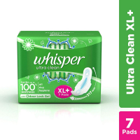 Whisper Ultra Sanitary Pads With Wings - 7 Pieces (xl Plus)