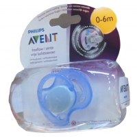 Philips Avent Soother Fast Flow, 0-6 Months (colour May Vary) Roll Over Image To Zoom In Philips Avent Soother Fast Flow, 0-6 Months (colour May Vary)