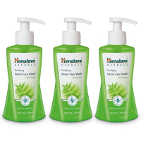 Himalaya Herbals Purifying Neem Face Wash, 200ml (pack Of 3)