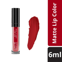 Lakme Absolute Matte Melt Liquid Lip Color, Firestarter Red, 6ml