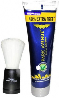 Park Avenue Good Morning Lather Shaving Cream 60g + 24g With Shaving Brush