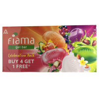 Fiama Di Wills Gel Bar Celebration Pack (125 G) - Pack Of 5