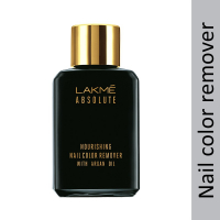 Lakme Absolute Nourishing Nail Color Remover With Argan Oil, 26ml
