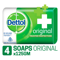 Dettol Soap 125g (pack Of 4)