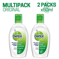 Dettol Instant Hand Sanitizer - 50 Ml (pack Of 2)