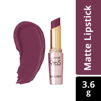 Lakme 9 To 5 Primer And Matte Lip Color, Garnet Punch, 3.6g