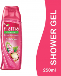 Fiama Patchouli And Macadamia Pure Indulgence Shower Gel, 250ml  Free Refill Pack  Of 185ml