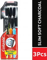 Colgate 360 Charcoal Gold Toothbrush
