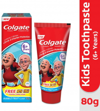 Colgate Kids Anticavity Motu Patlu Toothpaste (6+ Years), Bubble Fruit Flavour – 80gm