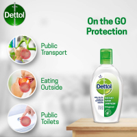 Dettol Instant Hand Sanitizer, Original - 50 Ml Each
