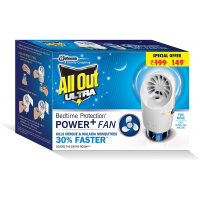 All Out Ultra Power+ Fan (machine Plus Refill)